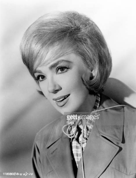 A headshot of Edie Adams who is starring in the comedy 'Call Me Bwana' directed by Gordon Douglas 1963