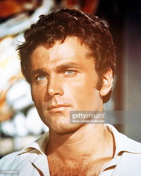 Headshot of Franco Nero Italian actor in a publicity portrait issued for the film 'La Ragazza in Prestito' 1964 The comedy directed by Alfredo...