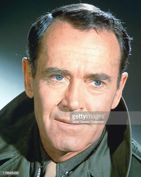 Headshot of Henry Fonda , US actor, circa 1955.