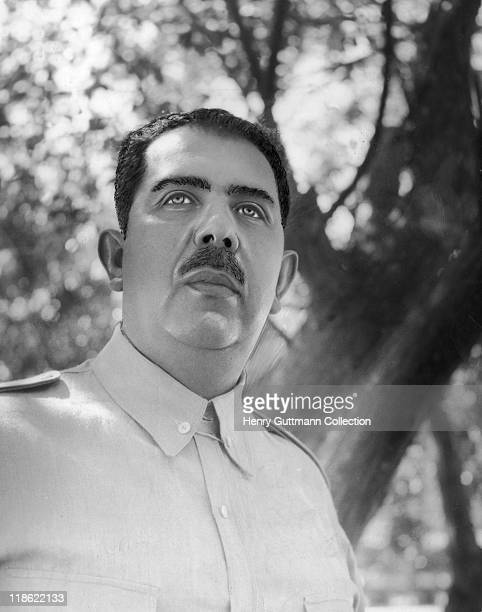 Headshot of Lazaro Cardenas Mexican politician who served as President of Mexico from 1934 to 1940 Mexico circa 1937