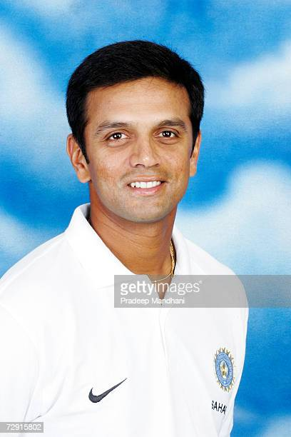 A headshot of Rahul Dravid of India taken ahead of the ICC Champions Trophy on October 2 2006 in Mumbai India