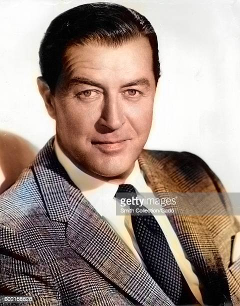 Headshot of Ray Milland, September 22, 1960. Note: Image has been digitally colorized using a modern process. Colors may not be period-accurate. .