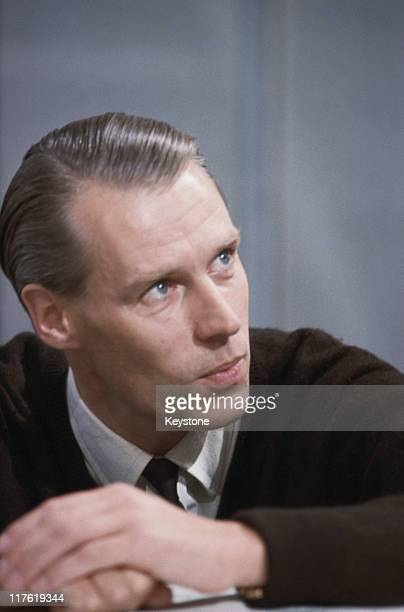 Headshot of Sir George Martin British record producer and composer 1965 Martin is sometimes referred to as 'the Fifth Beatle' owing to his production...
