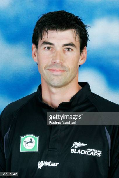 Headshot of Stephen Fleming of New Zealand taken ahead of the ICC Champions Trophy on October 2, 2006 in Mumbai, India.