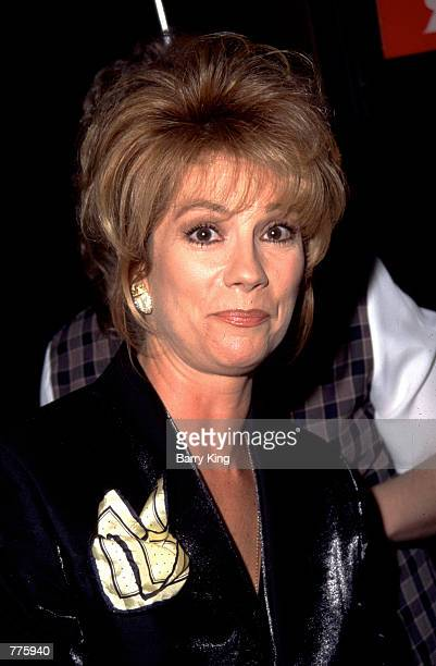 Headshot of The Live With Regis and Kathy Lee Show hostess Kathy Lee Gifford 1996 in Los Angeles CA Kathie Lee Gifford says July 23 2000 that her...