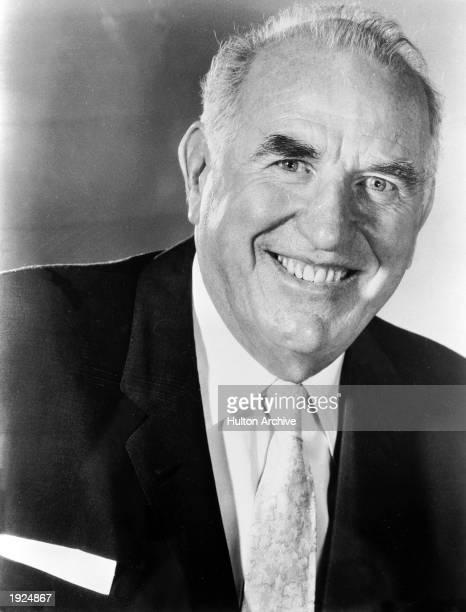 Headshot portrait of American actor Ed Begley 1960s