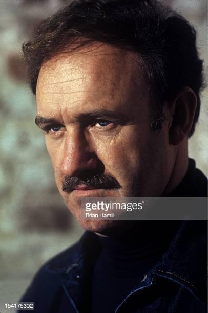 Headshot portrait of American actor Gene Hackman San Francisco California January 1973