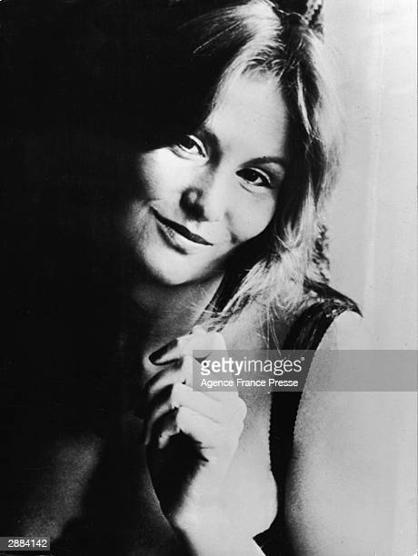 Headshot portrait of American adult film actor Linda Lovelace circa 1970s
