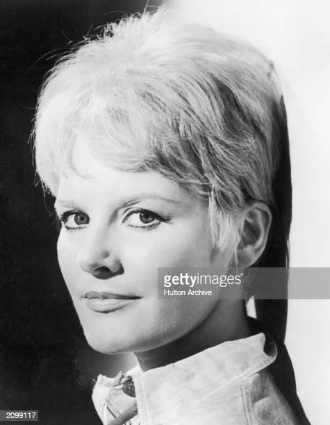 Headshot portrait of British singer and actor Petula Clark circa 1965