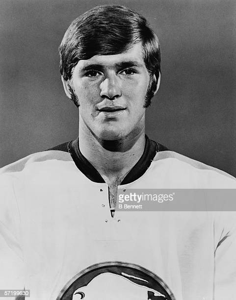 Headshot portrait of Canadian professional hockey player Rick Martin of the Buffalo Sabres early 1970s Martin played for the Sabres from 1971 to 1981
