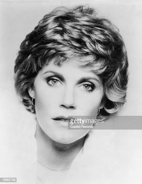 Headshot portrait of Canadianborn singer Anne Murray circa 1980s