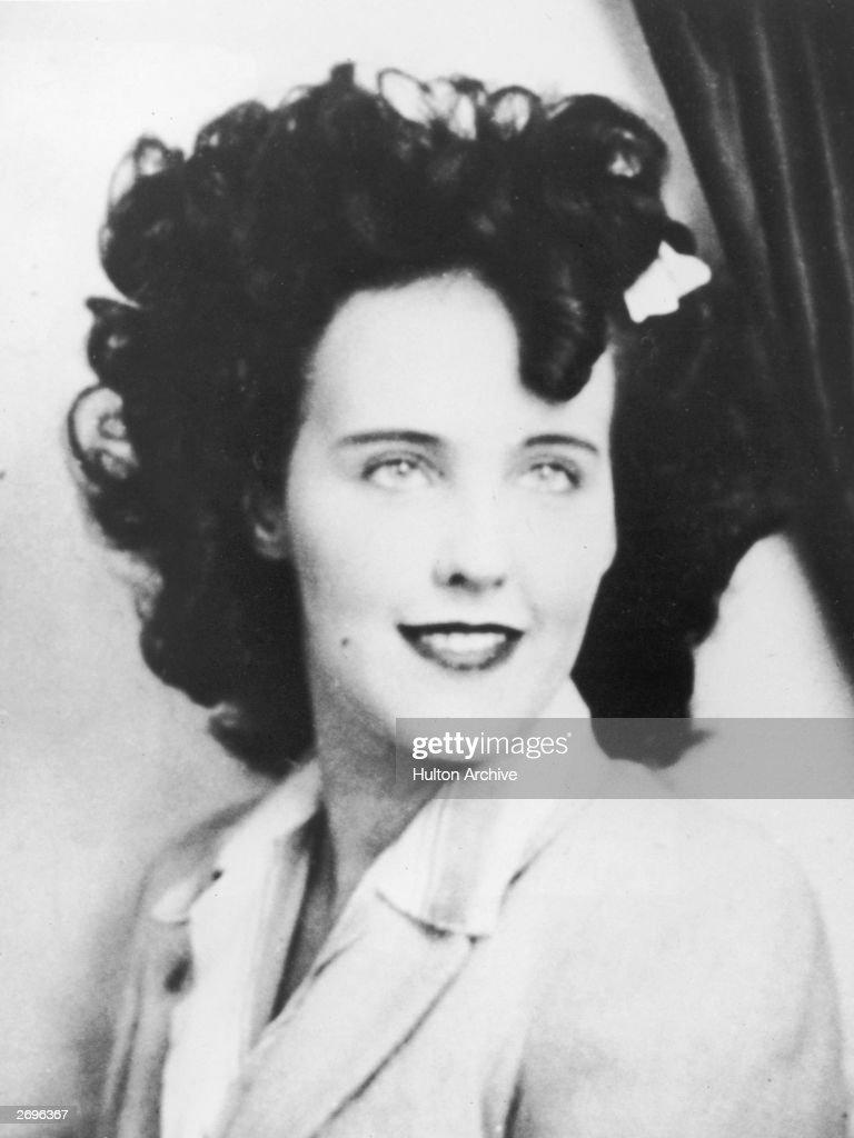 Black Dahlia : Nachrichtenfoto
