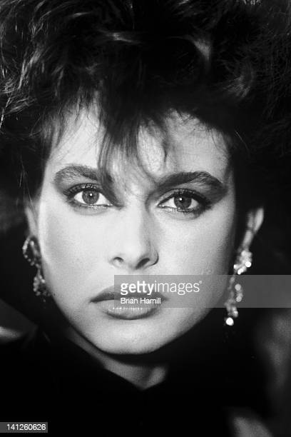 Headshot portrait of Germnaborn actress Nastassja Kinski Paris France 1981