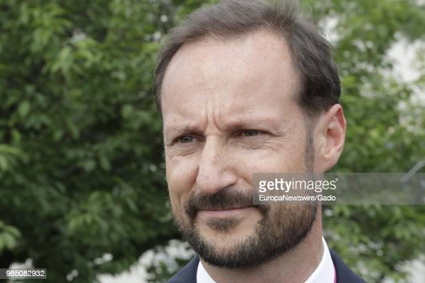 Headshot portrait of Haakon Crown Prince of Norway at the United Nations in New York City New York June 22 2018