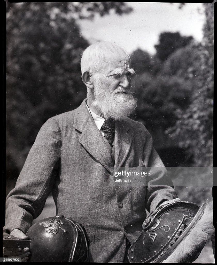 George Bernard Shaw : News Photo