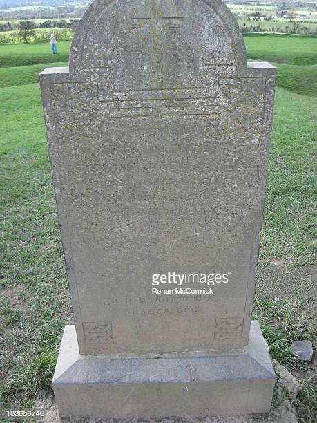 Headstone at the Hill of Tara, Co. Meath, Ireland