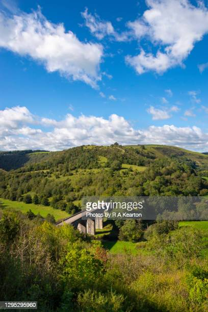 headstone viaduct, monsal head, derbyshire, england - peak district national park stock pictures, royalty-free photos & images