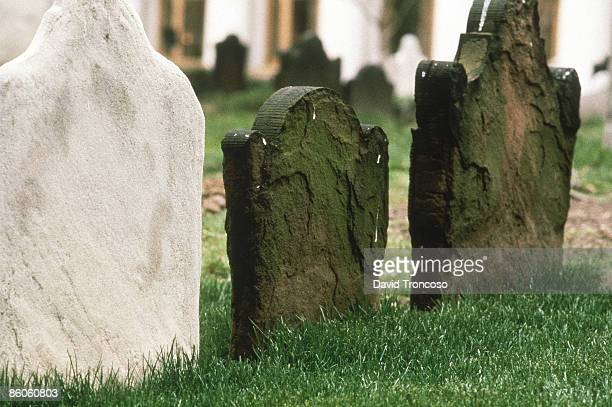 headstones - crypt stock photos and pictures