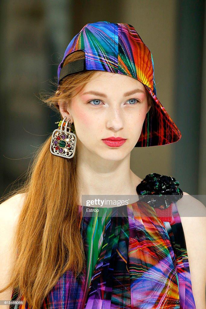 Chanel : Details - Paris Fashion Week Womenswear Spring/Summer 2017 : News Photo