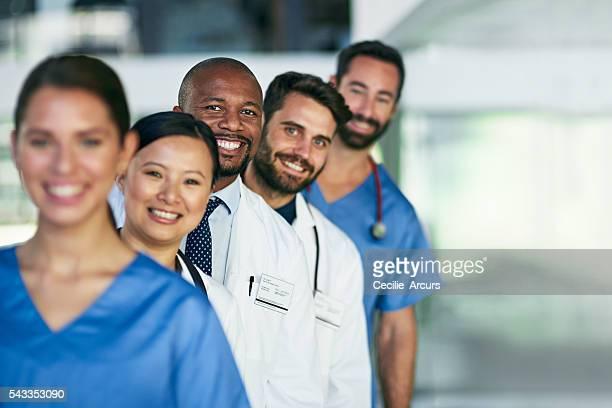 Healing through diversity and teamwork