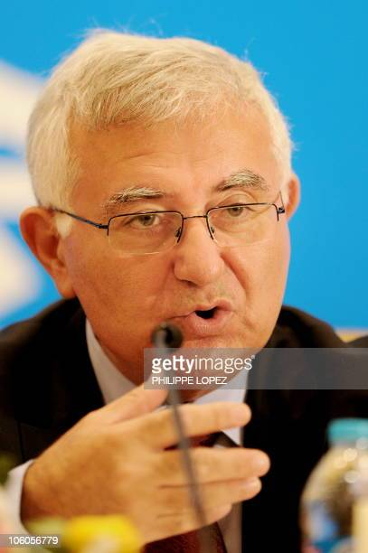 EU Health and Consumer Policy Commissioner John Dalli listens to a question during a press conference following the second ChinaEUUS trilateral...