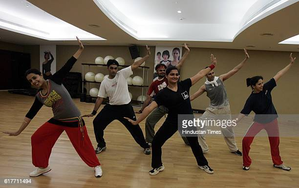 Health and Fitness Dance Bollywood dance class at Fitness First at Mega mall