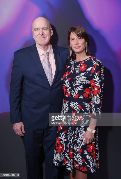 Health and Hospitals CEO at Bellevue Bill Hicks and film subject Hope Litoff attend the NY Special Screening of the HBO Documentary Film 32 PILLS MY...