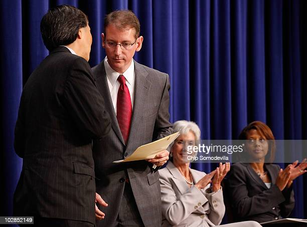 Health and Human Services Assistant Secretary for Health Dr Howard Koh White House Office of National AIDS Policy Director Jeffrey Crowley HHS...