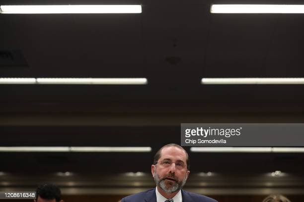 Health and Human Services Secretary Alex Azar testifies before the Senate Labor, Health and Human Services, Education and Related Agencies...