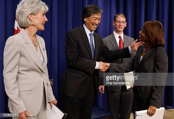 Health and Human Services Secretary Kathleen Sebelius HHS Assistant Secretary for Health Dr Howard Koh White House Office of National AIDS Policy...