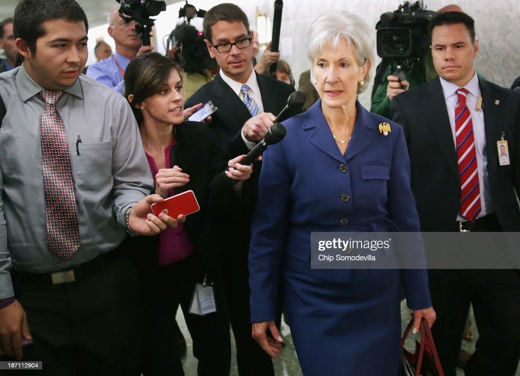 Sebelius Testifies Before Senate Finance Committee On Health Care Exchanges