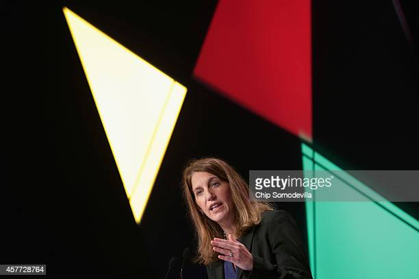 S Health and Human Services Secretary Sylvia Mathews Burwell addresses the The American Academy of Family Physicians annual convention at the Walter...