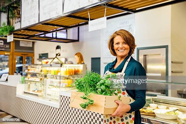 Health Cafe Owner