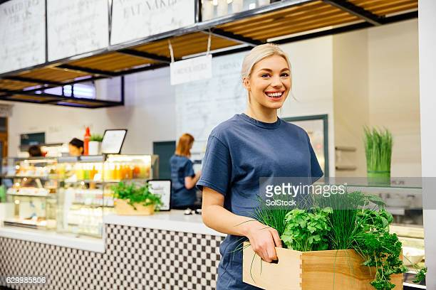 Health Cafe Worker
