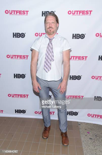 Health Chairman Peter Perkowski attends a screening of The Garden Left Behind at the 2019 Outfest Los Angeles LGBTQ Film Festival at Margo Albert...