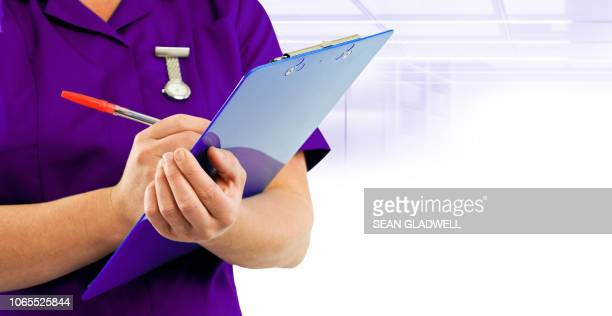 health clinic nurse - rank stock pictures, royalty-free photos & images