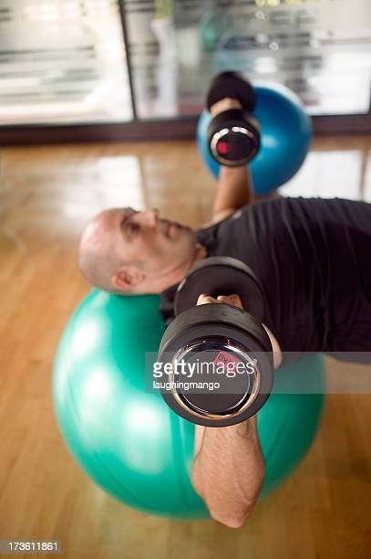 health club one person weights