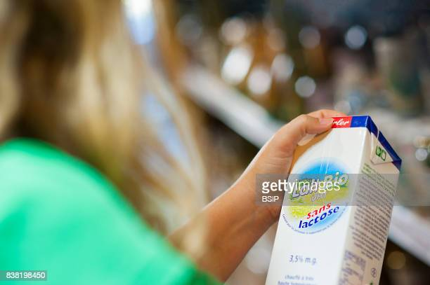 Health food shop Lactose free