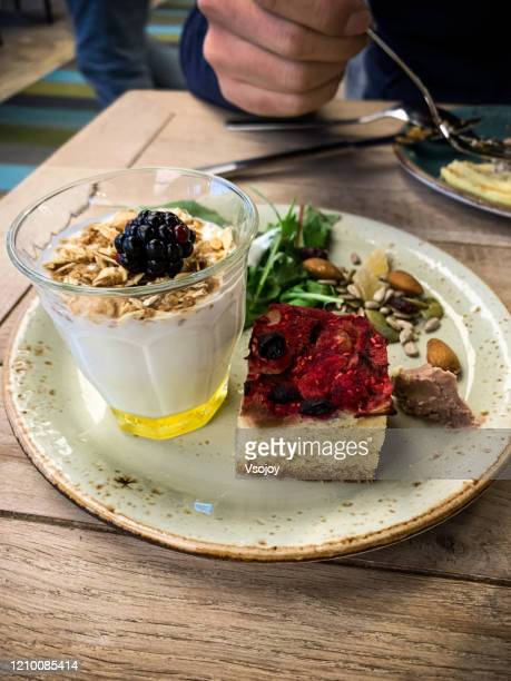 health lifestyle breakfast ii, copenhagen, denmark - vsojoy stock pictures, royalty-free photos & images