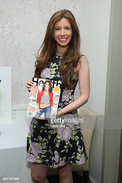 Health Magazine beauty Director Ilana Blitzer attends the fourth annual Beauty Editors Day at Saks Fifth Avenue on August 6 2015 in New York City