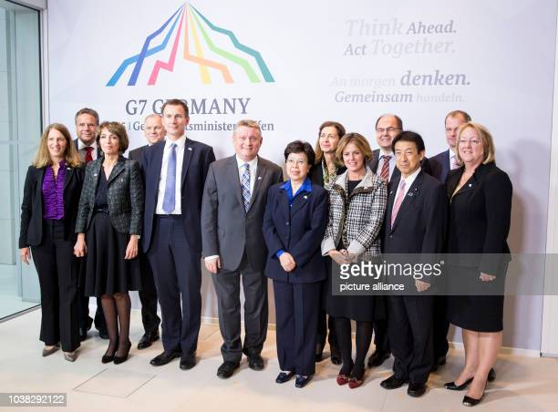Health ministers Sylvia Burwell and Marisol Touraine  EU Commissioner Vytenis Andriukaitis health ministers Jeremy Hunt and Hermann Groehe Margaret...
