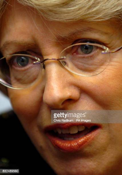 Health Secretary Patricia Hewitt during a visit to Bedford Hospital where the Minister vowed the hospital would not close and accused campaigners of...