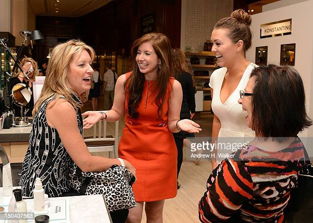 Health Senior Beauty and Fashion Editor Ilana Blitzer attends Beauty Editors Day at Saks Fifth Avenue on August 16 2012 in New York City