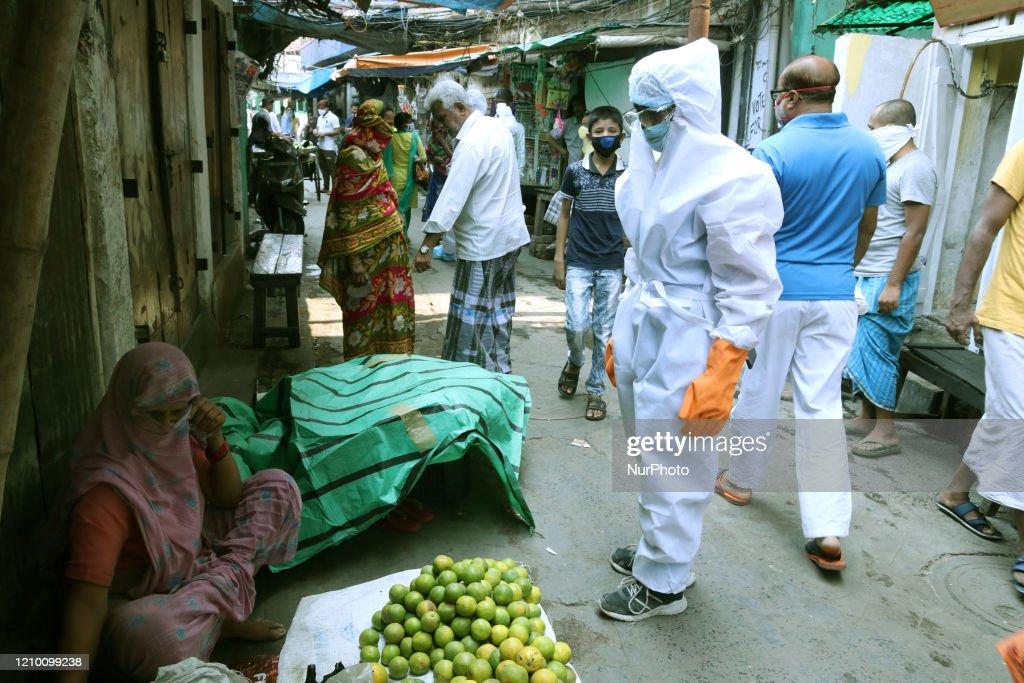 Coronavirus Emergency In Kolkata : News Photo