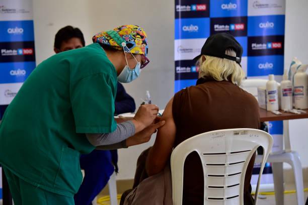 ECU: Vaccination Day In Quito