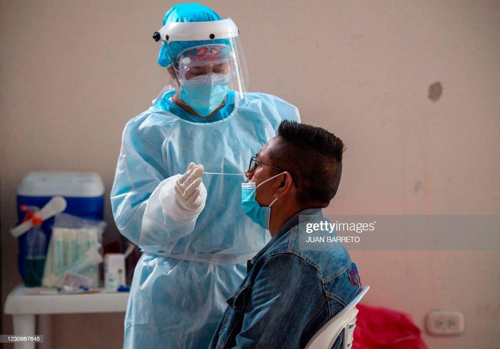 COLOMBIA-HEALTH-VIRUS-TEST : Nieuwsfoto's