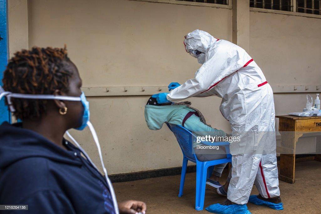 Mass Coronavirus Testing In Kenya's Capital : News Photo