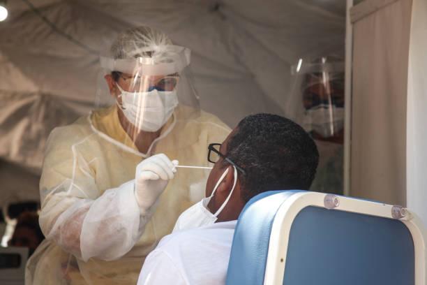 BRA: Coronavirus (COVID - 19) Mass Testing at State Hospital  Alberto Torres and Unidade de Pronto Atendimento (UPA) Colubandê Amidst the Pandemic