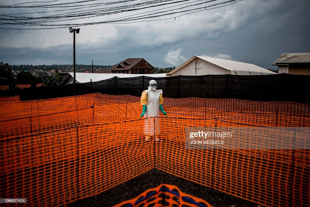 TOPSHOT-DRCONGO-EPIDEMIC-HEALTH-EBOLA : News Photo