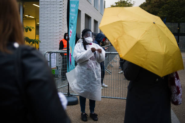 FRA: Swab Testing in Paris as Europe Virus Cases Surge